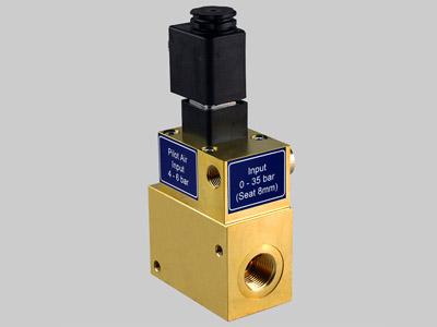 On-off valve PV1 B40 STD